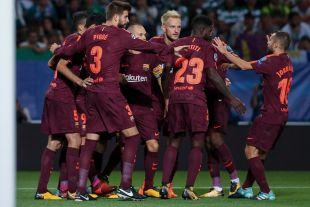 Sporting Portugal - FC Barcelona. EFE/JOSE SENA GOULAO