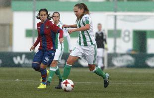 Irene Guerrero fue una de las jugadoras más destacadas del R. Betis - Levante.