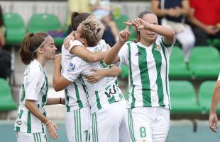 Irene Guerrero celebra su gol.