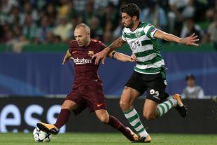 Sporting Portugal - FC Barcelona. EFE/TIAGO PETINGA