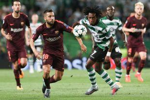 Sporting Portugal - FC Barcelona. EFE/JOSÉ SENA GOULAO