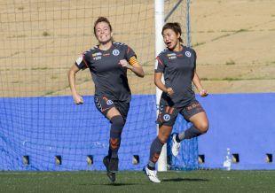 Nuria Mallada abrió el marcador en Huelva.