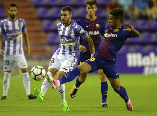 Valladolid - FC Barcelona B.