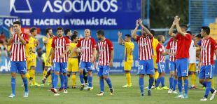 Alcorcón - Sporting. Alcorcón - Sporting de Gijón