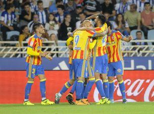 R. Sociedad - Valencia. PARTIDO ALBENIZ