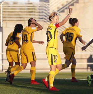 Amanda contribuyó con un gol a la victoria a domicilio del At. Madrid Femenino ante el Levante.