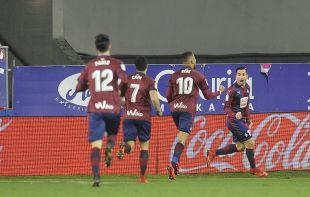 Eibar - Girona. partido