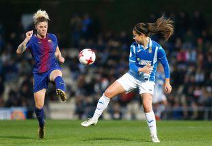 El FC Barcelona es el nuevo líder de la Liga Femenina Iberdrola tras su triunfo sobre el RCD Espanyol y la derrota del At. Madrid Femenino