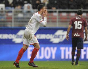 Eibar - Sevilla. partido