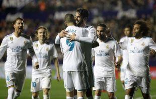 Levante - R. Madrid.