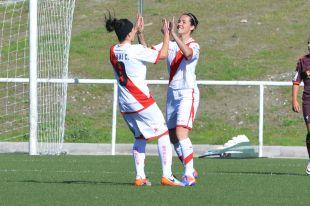Natalia Pablos marca si primer gol tras su vuelta, dos año y medio después.