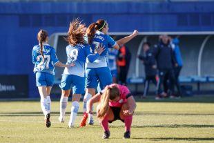 El Espanyol se adelantó con gol de Dominika.