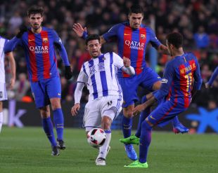 FC Barcelona - R. Sociedad.