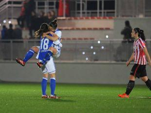 Manuela Lareo adelantó a la Real Sociedad en Lezama.