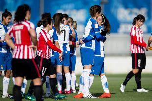 Cristina Baudet marcó para el Espanyol.