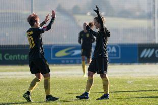 Sonia Bermúdez marcó el gol de la victoria.