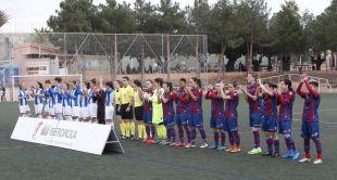Instantes previos al Levante Femenino - Espanyol