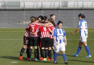 El Athletic golea al Sporting Huelva (4-0)