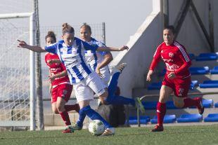 Laura Rus firmó un doblete con el Sporting.