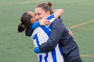 Anita le dedicó su gol a Sara Serrat, recién recuperada.