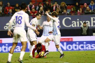 Osasuna - Málaga.
