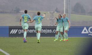 Andressa Alves marcó el segundo tanto del Barcelona.