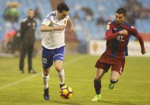 Zaragoza - Levante. Partido Zaragoza- Levante