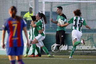 Paula Moreno empató ante el Barcelona.