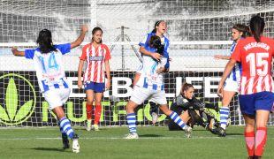 Con el 1-0 en el marcador, Analu empató para el Sporting Huelva.