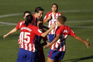 Sonia Bermúdez marcó gol olímpico ante el R. Betis.