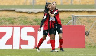 Francisca Lara marcó el tanto que certificó la remontada.