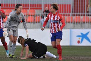 Amanda marcó el segundo de los dos goles que le dieron la victoria al At. Madrid Femenino frente al Sevilla.
