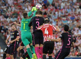 Athletic - FC Barcelona. Athletic de Bilbao -Barcelona, 28-08-2016