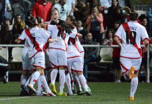 El Rayo consiguió su primer triunfo ante el Zaragoza CFF.