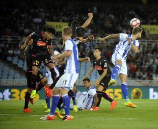 R. Sociedad - Espanyol. PARTIDO