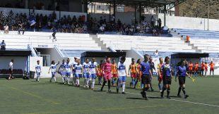El Granadilla venció al Valencia por 1-0.