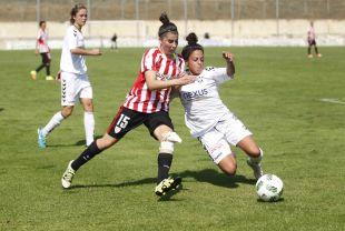 Lucía García se estrenó como goleadora del Athletic Club.