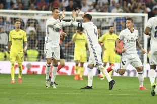 R. Madrid - Villarreal.