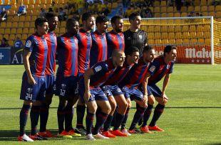 Primera alineación del Huesca en la 2016/17