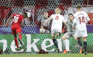 Spartak de Moscú - Sevilla FC / EFE/YURY KOCHETKOV
