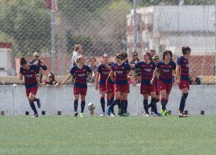 El FC Barcelona consiguió remontar el encuentro ante el Sporting Huelva.
