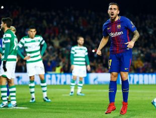 FC Barcelona - Sporting Portugal. // EFE/Alejandro García