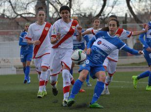 Paloma Lázaro volvió con gol a Vallecas, en el Rayo - Granadilla Egatesa de la Primera División Femenina.