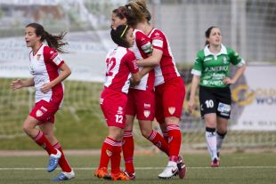 Estefa empató en el Santa Teresa CD - Oviedo Moderno, en la Primera División Femenina.