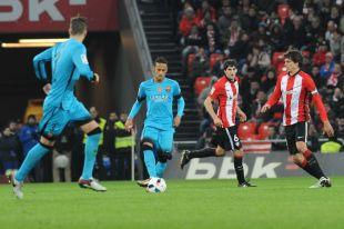 Athletic - FC Barcelona. ATHLETIC DE BILBAO-BARCELONA 20-01-2016