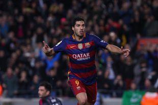 Luis Suárez es el máximo goleador de la Liga BBVA con 15 tantos