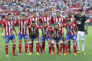 Así formó el Girona en la primera jornada.