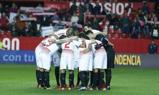 Una vez más los jugadores del Sevilla se conjuraron para lograr su 12º triunfo seguido en su estadio en la Liga BBVA tras superar al SD Eibar por 1-0