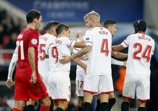 Spartak de Moscú - Sevilla FC / EFE/MAXIM SHIPENKOV