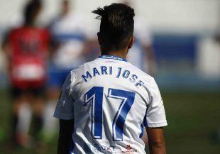 Mari José marcó el tercero de los cinco goles que el Granadilla Egatesa endosó al Sporting Huelva.